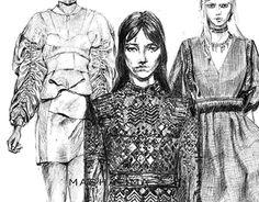 Fashion sketchbook. Part I on @Behance: http://be.net/gallery/31818999/Fashion-sketchbook-Part-I