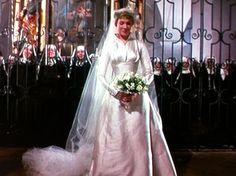 Mode Amplitude - Fashion & Culture: Julie Andrews bride, The Sound of Music 1965