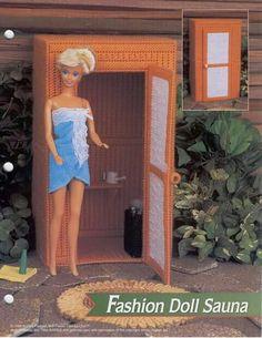 Fashion Doll Sauna-1/4