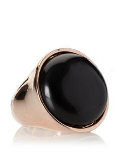 75% OFF Jules Smith Boho Ring, Rosegold and Black