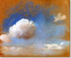 Degas, Sky Study, 1869