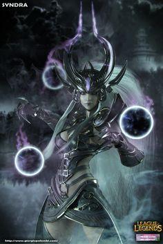 Syndra fanart league of legends