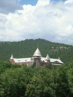 Montezuma Castle, Las Vegas NM home of the United World College campus (one of fourteen UWC's around the world).