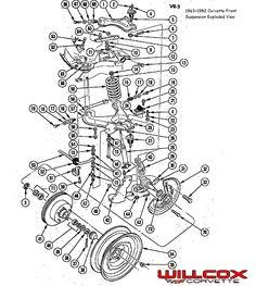 c3 corvette door diagram