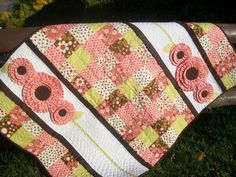 baby girl quilt designs | This adorable quilt will leave your little one wanting to pick a ...