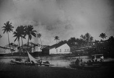 """Largo da MAriquita-  fotos do livro """"BAHIA – Velhas Fotografias 1858/1900"""", de Gilberto Ferrez."""
