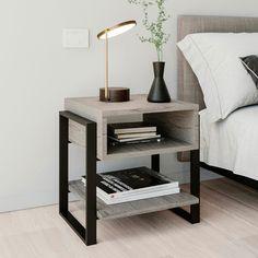 BURÓ CALCIO – Carbono Diy Interior Furniture, House Furniture Design, Loft Furniture, Iron Furniture, Steel Furniture, Furniture Projects, Rustic Furniture, Home Interior Design, Steel Bed Frame