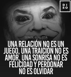 Spanish Inspirational Quotes, Spanish Quotes, Joker Quotes, Me Quotes, Joker Heath, Quotes En Espanol, Positive Phrases, Pretty Quotes, Joker And Harley Quinn