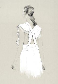Fashion illustration at its finest.