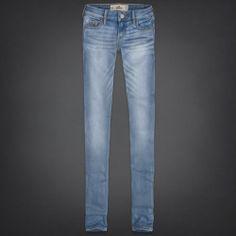 Hollister Super Skinny Light Wash Jeans - Size 00R $30