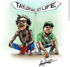How fly curren$y & Wiz Khalifa