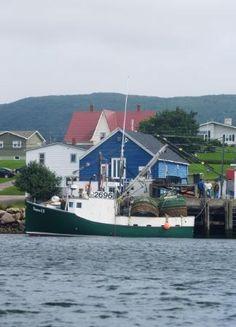 Cheticamp Harbour, Cape Breton, Nova Scotia Our Honeymoon! O Canada, Canada Travel, Places Ive Been, Places To Go, Acadie, Cabot Trail, East Coast Road Trip, Atlantic Canada, Cape Breton