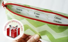How to organize a Christmas spending plan. Be a good steward of your money during the holidays.