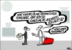 Viñeta: Forges - 2014-10-12 | Opinión | EL PAÍS Male Hands, Programming For Kids, Social Services, Humor Grafico, Lettering, This Or That Questions, Learning, Grande, Books