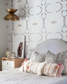 Gray teen girl's room
