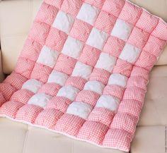 Купить или заказать Зефирное одеяло в интернет-магазине на Ярмарке Мастеров. Нежное, очень-очень мягкое и теплое одеяло из 100% хлопка хорошего качества. Может служить надежным одеялом зимой и удобным ковриком дл…