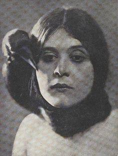 Silent Film Star Theda Bara, Channeling Poe