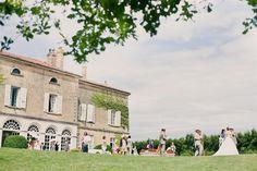 Wedding in chateau de Montplaisant