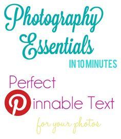blogging - photo editing