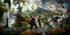 What do you get when you combine a great first teaser with a good second and a busy third teaser for Oz the Great and Powerful. A poster where the great bits are pushed to the background and the stale stuff is front and center. What a let down.