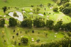 Arial View of the Cromwell Course at #NailcoteHall
