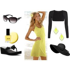 :)   yes to yellow sun dresses!
