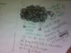 Black Sheep    (more funny test answers at: zerooutoffive.blogspot.com)