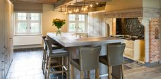 Cocinas hechas según tradición británica - Cocinas con estilo