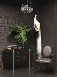 dare to go dark :) #exclusivedesign  For more inspirations: www.bocadolobo.com home furniture, designer furniture, inspirations ideas, exclusive furniture, interior design ideas