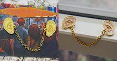 [TOPITRUC] Un pins avec des oreilles extensibles pour écouter partout autour de toi Cadeau Harry Potter, Fans D'harry Potter, Alex And Ani Charms, Pins, Charmed, Etsy, Patches, Gold, Jewelry