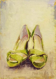 paul ferney - I need to start painting shoes again.