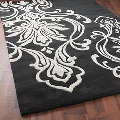 1000 Images About Black And White Area Rugs Lamps And