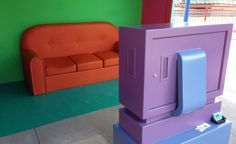 Simpson's couch gag at Universal Studios