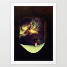 Space Art Print by zumzzet - $14.00
