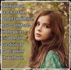 If you are struggling with self-doubts, remind yourself frequently that your true power comes from God working within and through you. God's Wisdom, Doreen Virtue, Self Confidence, Spiritual Awakening, Hair Looks, Affirmations, People, Beautiful, Angels