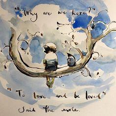Charlie Mackesy @charliemackesy - Instagram Lynda Barry, Charlie Mackesy, The Mole, Most Beautiful Words, Horse Quotes, Horse Art, Art Drawings, Illustration Art, Artsy