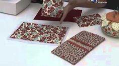 como fazer bolsa de feltro - YouTube