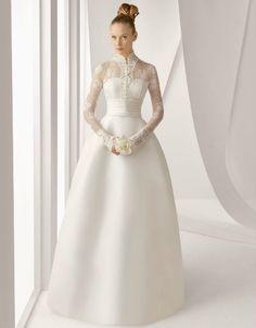 Abiti da sposa · Modello Adorno di Rosa Clarà Principessa Vera 3e323bf1fdb