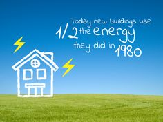 Nowadays buildings are much more energy efficient than in the 80s. Click on the photo to check our #climate magazine for more facts!