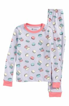 a20d143f0e Main Image - Tucker + Tate Fitted Two-Piece Pajamas (Toddler Girls