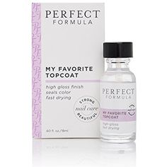 Perfect Formula My Favorite Top Coat ** Read more reviews of the product by visiting the link on the image. (This is an affiliate link) #FootHandNailCare