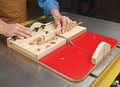 Multipurpose Small Parts Sled | Woodsmith Plans