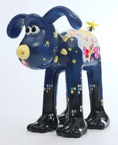 """Today's Gromit of the Day """"Joyful Summer Night"""" is designed by Crystal Hung, an illustrator based in Taiwan and the founder of """"Crystal's Illustration Forest"""".  Summer nights are always a delight! With a full-moon nose and a starry tail, Gromit resembles a beautiful summer night! You can discover this """"Joyful Summer Night"""" at ELEMENTS' 1/F Metal Zone."""