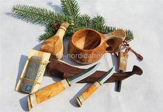 Scandinavian Survival Bushcraft tool kit-Puukko Knife