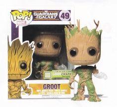 Glow In The Dark Groot Funko POP! - Guardians of the Galaxy - Loot Crate #FUNKO