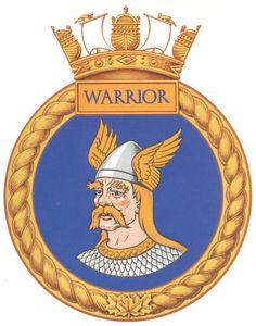 HMCS WARRIOR Badge - The Canadian Navy - ReadyAyeReady.com