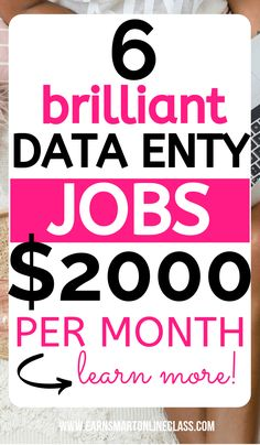 Searching for data entry jobs from home? Get this list of the 10 best data entry jobs hiring in Data entry jobs from home are the perfect work from home jobs for beginners. Data entry clerks can perform simple tasks online and still earn good money. Work From Home Careers, Legit Work From Home, Online Jobs From Home, Legitimate Work From Home, Work From Home Opportunities, Work From Home Tips, Busy At Work, Home Jobs, Jobs Uk