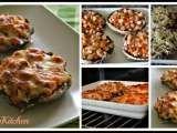 Receita Cogumelos portobello com fiambre, tomate e mozzarella de SweetMyKitchen - Petitchef