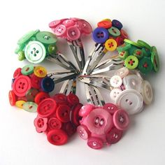 Button pins.