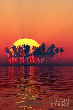✯ Island Sunset